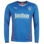 Rangers 13-14 Puma Long Sleeve Home Shirt