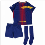 2017-18 Barcelona Home Mini Kit (Coutinho)