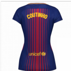 2017-2018 Barcelona Womens Home Shirt (Coutinho .)