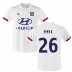 2019-2020 Olympique Lyon Adidas Home Football Shirt (Kids) (Henry 26)