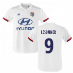 2019-2020 Olympique Lyon Adidas Home Football Shirt (Le Sommer 9)