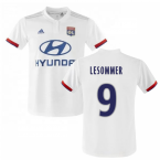 2019-2020 Olympique Lyon Adidas Home Football Shirt (Kids) (Le Sommer 9)