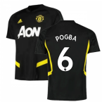 2019-2020 Man Utd Adidas Training Shirt (Black) (Pogba 6)