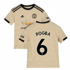 2019-2020 Man Utd Adidas Away Football Shirt (Kids) (Pogba 6)