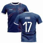 2019-2020 Glasgow Home Concept Football Shirt (Aribo 17)