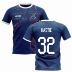 2020-2021 Glasgow Home Concept Football Shirt (Hastie 32)