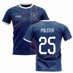 2019-2020 Glasgow Home Concept Football Shirt (Polster 25)