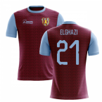 2019-2020 Villa Home Concept Football Shirt (El Ghazi 21)