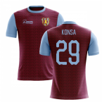 2019-2020 Villa Home Concept Football Shirt (Konsa 29)