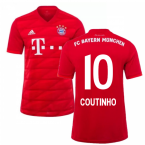 2019-2020 Bayern Munich Adidas Home Shirt (Kids) (Coutinho 10)