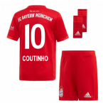 2019-2020 Bayern Munich Adidas Home Little Boys Mini Kit (Coutinho 10)
