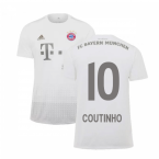 2019-2020 Bayern Munich Adidas Away Football Shirt (Coutinho 10)