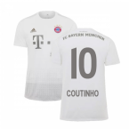 2019-2020 Bayern Munich Adidas Away Shirt (Kids) (Coutinho 10)