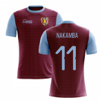 2019-2020 Villa Home Concept Football Shirt (Nakamba 11)