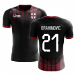 2020-2021 Milan Pre-Match Concept Football Shirt (Ibrahimovic 21)