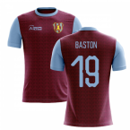 2019-2020 Villa Home Concept Football Shirt (Baston 19)