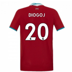 2020-2021 Liverpool Vapor Home Shirt (Kids) (DIOGO J 20)