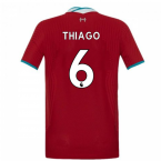 2020-2021 Liverpool Vapor Home Shirt (Kids) (THIAGO 6)
