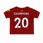 2019-2020 Liverpool Home Little Boys Mini Kit (CHAMPIONS 20)