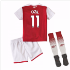 2017-18 Arsenal Home Mini Kit (Ozil 11)