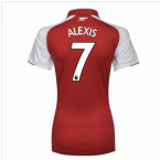 2017-18 Arsenal Womens Home Shirt (Alexis 7)