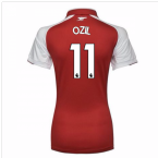 2017-18 Arsenal Womens Home Shirt (Ozil 11)