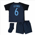 2017-18 England Away Infant Kit (Stones 6)