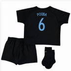 2017-18 France Away Nike Mini Kit (Black) (Pogba 6)
