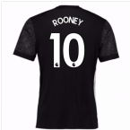 2017-18 Man Utd Away Adidas Shirt (Rooney 10)
