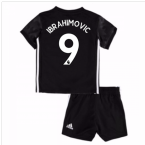 2017-18 Man Utd Away Baby Kit (Ibrahimovic 9)