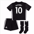 2017-18 Man Utd Away Mini Kit (Rooney 10)
