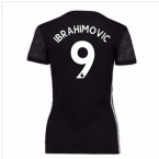 2017-18 Man Utd Away Womens Shirt (Ibrahimovic 9)
