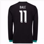 2017-18 Real Madrid Away Long Sleeve Shirt (Bale 11)