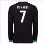 2017-18 Real Madrid Away Long Sleeve Shirt (Ronaldo 7)