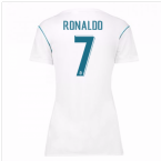 2017-18 Real Madrid Womens Home Shirt (Ronaldo 7)