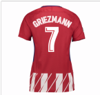 2017-2018 Atletico Madrid Womens Home Shirt (Griezmann 7)