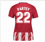 2017-2018 Atletico Madrid Womens Home Shirt (Partey 22)