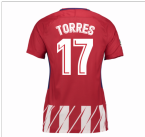 2017-2018 Atletico Madrid Womens Home Shirt (Torres 17)