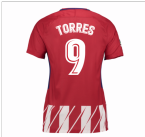 2017-2018 Atletico Madrid Womens Home Shirt (Torres 9)