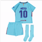 2017-2018 Barcelona Away Mini Kit (Messi 10)