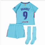 2017-2018 Barcelona Away Mini Kit (Suarez 9)