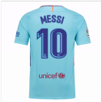 2017-2018 Barcelona Away Shirt (Messi 10)