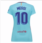 2017-2018 Barcelona Womens Away Shirt (Messi 10)