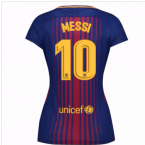 2017-2018 Barcelona Womens Home Shirt (Messi 10)