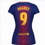 2017-2018 Barcelona Womens Home Shirt (Suarez 9)