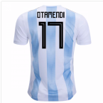 2018-19 Argentina Home Shirt (Otamendi 17) - Kids