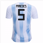 2018-19 Argentina Home Shirt (Paredes 5) - Kids