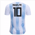 2018-19 Argentina Home Shirt (Riquelme 10) - Kids