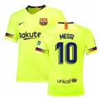 2018-19 Barcelona Away Shirt (Messi 10)