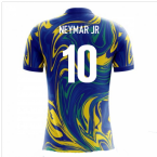 2018-19 Brazil Airo Concept Away Shirt (Neymar Jr 10)